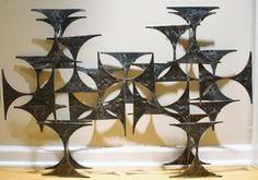 Marc Creates Brutalist Wall Sculpture just listed today on #onekingslane #midcenturymodern