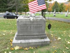Civil War Veteran's Grave  Green Mount Cemetery  Montpelier, Vermont