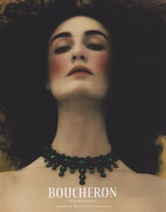 Boucheron advert featuring Erin O'Connor (2004)