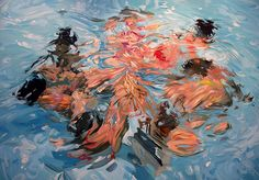 7 Girls, Benjamin Anderson, Oil on Linen, 2008 : Art