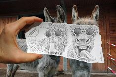 Amazingly Creative Drawing Vs Photography #Art, #Drawing, #Photography