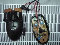 Optical Mouse Surface Reader Noise Toy