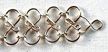 Step 26 to Crazy 8 Jewelry Wire Bracelet - Jewelry Making Project