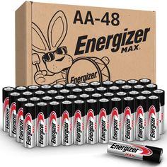 $24.98 #AD Best Deals Online-Energizer MAX AA Batteries (48 Pack), Double A Alkaline Batteries