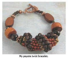 From Seed Bead Circle to Spiral Peyote - Daily Blogs - Beading Daily  Tutorial with video & free PDF