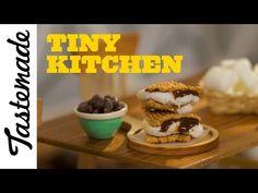 How to Make Tiny Raspberry Crepes | Tiny Kitchen - YouTube