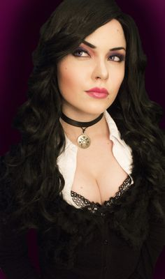 VISIT FOR MORE Yennefer 1 The Witcher Wild Hunt by tenebrisDimetra.d on The post Yennefer 1 The Witcher Wild Hunt by tenebrisDimetra.d on appeared first on Outfits. Hot Goth Girls, Gothic Girls, Fantasy Women, Fantasy Girl, Dark Beauty, Gothic Beauty, Yennefer Cosplay, Non Blondes, Yennefer Of Vengerberg