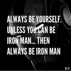 be ironman