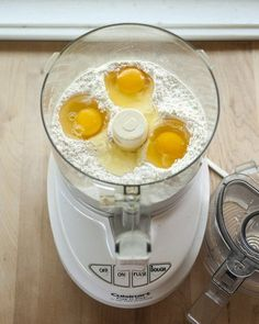 How to Make Fresh Pasta Dough in the Food Processor, Great Recipe!
