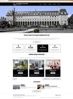 Lancement du site de Maîtres Scouarnec et Gours | Acreat Web Technologies Desktop Screenshot, Rocket Launch