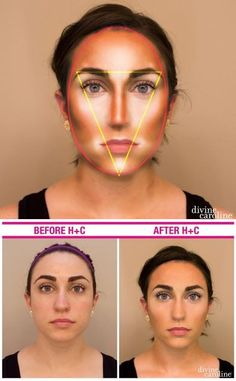 Makeup Magic: Lose Pounds in Minutes with Highlighting and Contouring!