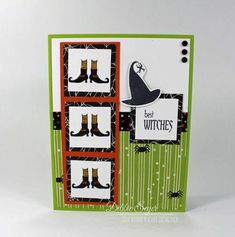 Best Witches Feet Card!