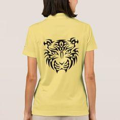 Tribal Tiger Nike Polo Shirt - animal gift ideas animals and pets diy customize