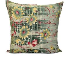 Buy 24X24 inches organic throw pillows vintage kantha pillow covers on sale. Flat 10% off and Free shipping world wide USA, UK, Australia, Canada & more.