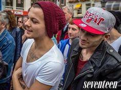 Louis Tomlinson Zayn Malik One Direction