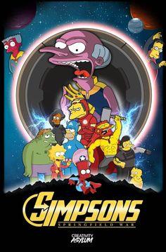 The Simpsons, Infinity War