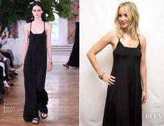 Jennifer Lawrence In Sally LaPointe, Dolce & Gabbana & Valentino - 'Mother!' Toronto Film Festival - Red Carpet Fashion Awards
