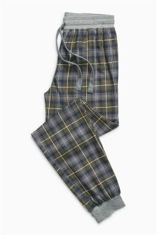 Buy Black Cosy Check Cuffed Bottoms from the Next UK online shop Cute Night Outfits, Cute Lazy Outfits, Sharp Dressed Man, Well Dressed Men, Mens Pjs, Mens Sleepwear, Cute Pajamas, Mens Flannel, Nightwear