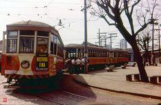 Trolley in Sao Paulo Nostalgia Critic, Cidades Do Interior, Bonde, Hobby Trains, Roman Empire, Brazil, Past, Japan, History
