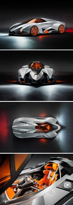 The amazing Lamborghini Egoista…it actually stop my breath for 3 seconds. magnificent.