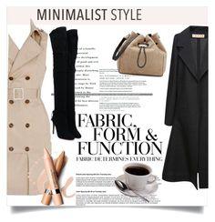 """Minimalist Style"" by clotheshawg ❤ liked on Polyvore featuring Vera Wang, L'Oréal Paris, Marni, Aquazzura and rag & bone"