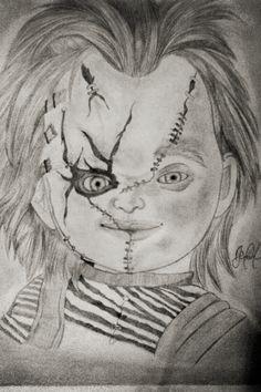 El Dibujo que mas me ah gustado de los que eh hecho se llama #Chucky