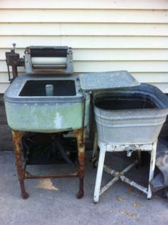 vintage washing machines and accessories | Antique (1947?) Washing Machine – Still Runs | Antique Machines