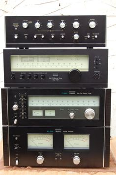 Sansui Stereo Components