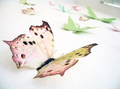 48 Ideas wedding colors red pink girl rooms for 2019 3d Wall Decor, 3d Wall Art, Nursery Wall Decor, Nursery Art, Red Nursery, Art Papillon, Pearl Decorations, Wedding Decorations, Butterfly Kids