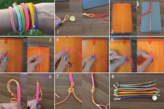 http://typicalhousecat.com/2012/08/28/diy-fishtail-bracelet/  DIY Fishtail Bracelet