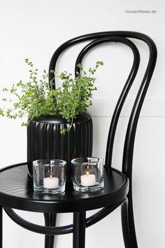 Teelichthalter Cylinder klar Green Living, Candle Decor, Chic Interior, Decor, Tea Light Holder, Tea Lights, Glass Decor, Candlelight, Home And Garden