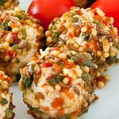A recipe for Lemon Crab Cheese Balls that are a perfect appetizer for special times.Serve with crackers.. Lemon Crab Cream Cheese Balls Recipe from Grandmothers Kitchen.