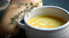 I just discovered this amazing recipe Butternut Squash Soup on Panna by Chef Seamus Mullen!