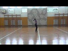TMK5E Practise 2: Aerial (3 spin), Baton Twirling