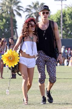 Vanessa and Austin at coachella