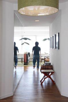 spiegel muur hal