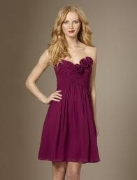 raspberry bridesmaid dress - Google Search