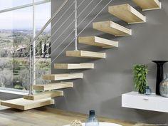 Kragstufentreppen hier günstiger online kaufen - Treppen Intercon