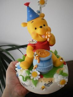 Winnie the Pooh #cake #toppers