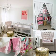346 Living features style-conscious DIY projects and a youthful, easy approach to interior design. So when Lizzie, the brains behind the blog, shared the news of her pregnancy, her readers knew that a fabulous nursery was just around the corner.  Baby