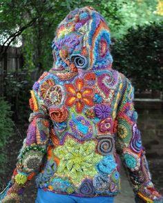 freeform häkeln - crochet > handverkarna.se
