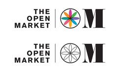 The Open Market Brighton brand and signage design