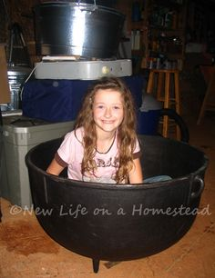Every Homesteader Needs A Stew Po---and for bathing and laundry--tons of uses Emergency Food, Emergency Preparedness, Homestead Survival, Survival Prepping, Get Off The Grid, Edible Wild Plants, Cooking Equipment, Wild Edibles, Dining Room Inspiration