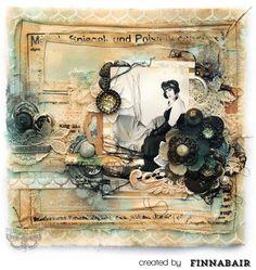 Art finn canvas: Mixed Media piece by artist FINNABAIR: gorgeous! Mixed Media Artists, Mixed Media Collage, Mixed Media Canvas, Collage Art, Altered Canvas, Altered Art, Mix Media, Finnabair Mixed Media, Mixed Media Scrapbooking