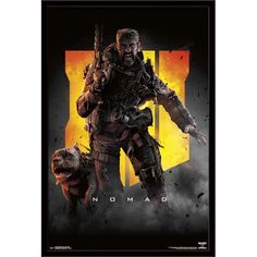 Call of Duty: Black Ops 4 - Nomad Key Art Poster and Poster Clip Bundle Video Game Shop, Video Game Art, Black Ops 1, Deadpool Funny, Game Black, The Game Is Over, Kunst Poster, Keys Art, Call Of Duty Black
