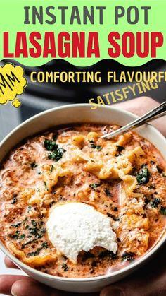 Lasagna Soup, Lasagne Soup