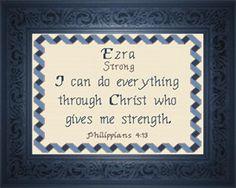 Name Blessings - Ezra