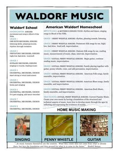 Home (Music) Making: Waldorf School verses Homeschool