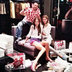 Alessandra Ambrosio shopping in Sao Paulo, Brazil - January 7, 2014