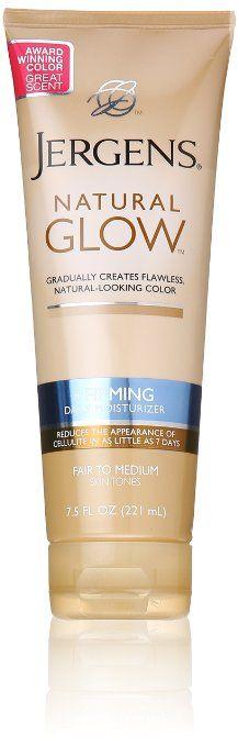 Jergens Natural Glow Firming Moisturizer, Fair to Medium Skin Tones 7.5 Ounces   Amazon 2 pack $13.99